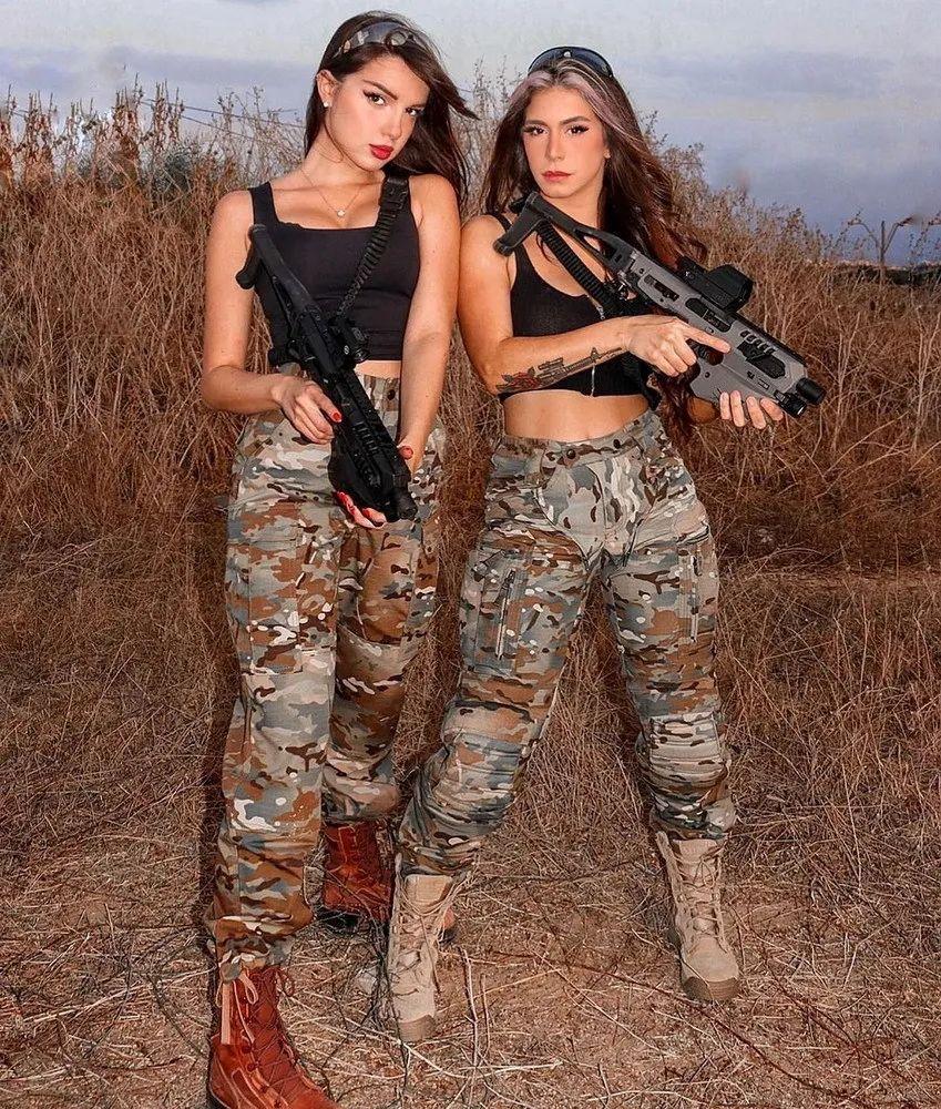 以色列女兵,我的心已被你击中